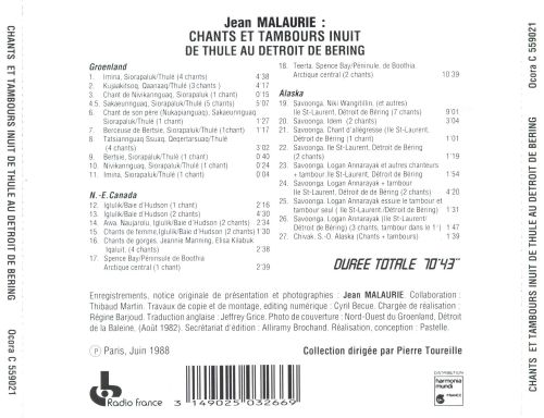 Inuit Chants & Drums from Thule Berin