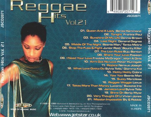 Reggae Hits, Vol. 21