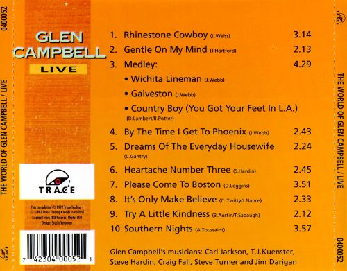 The World of Glen Campbell Live