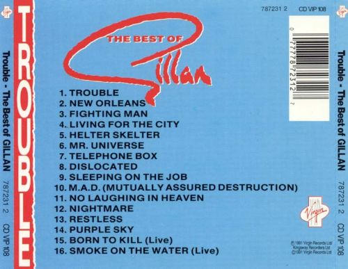 Trouble: The Best of Gillan