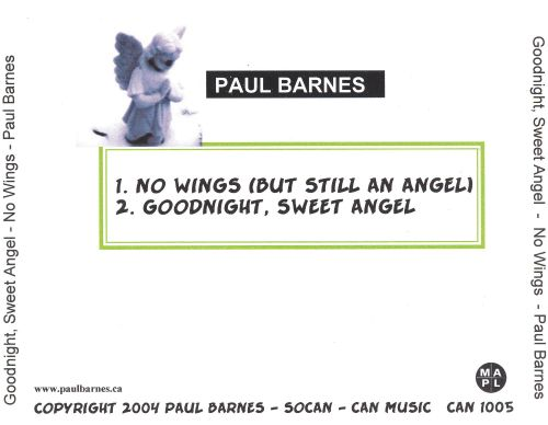 No Wings (But Still an Angel)/Goodnight, Sweet