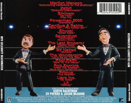Watch All Season TV Series Celebrity Deathmatch (1998 ...