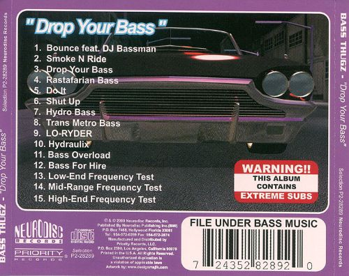 Drop Your Bass [Clean]