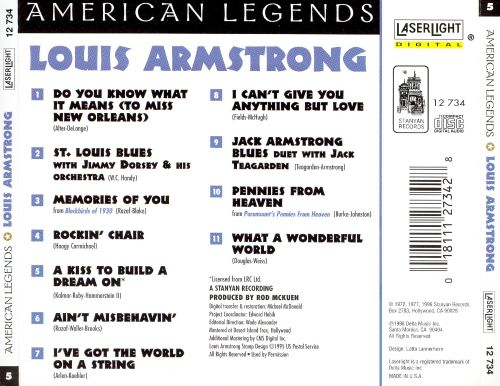 Louis Armstrong [Laserlight]