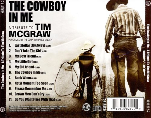 The Cowboy in Me: A Tribute to Tim McGraw