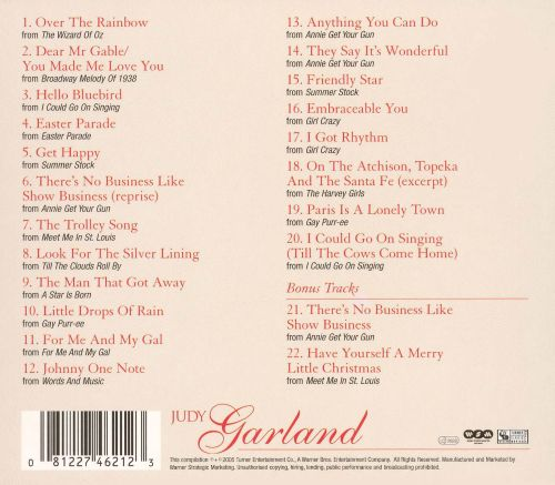Very Best of Judy Garland [Wea]