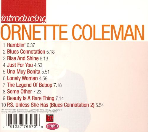 Introducing: Ornette Coleman
