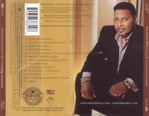 Christmas Prayer - Aaron Neville | Songs, Reviews, Credits | AllMusic