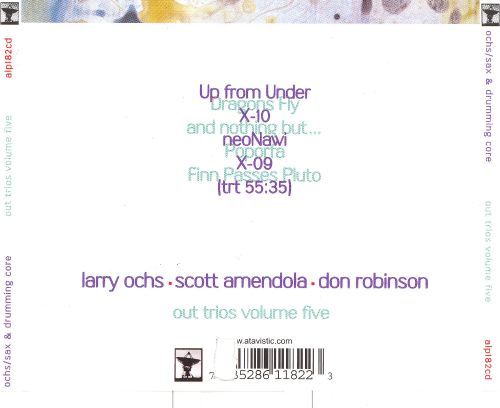 Out Trios Vol. 5: Up from Under