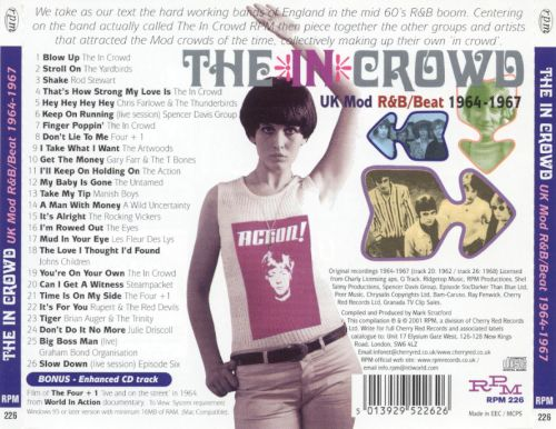 The In Crowd: UK Mod R&B Beat,1964-1967 [RPM]