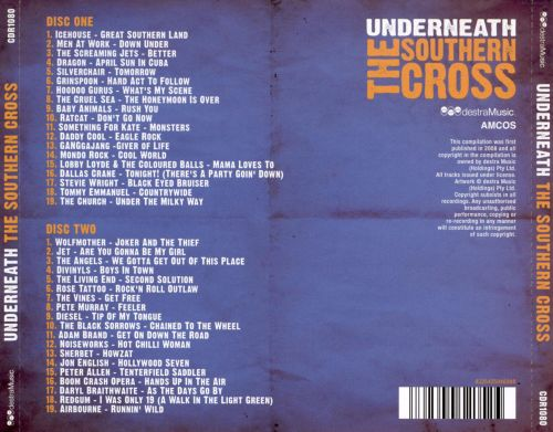 Underneath: The Southern Cross