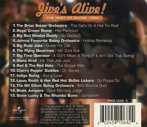 Jive's Alive!: The Best of Swing 1998!