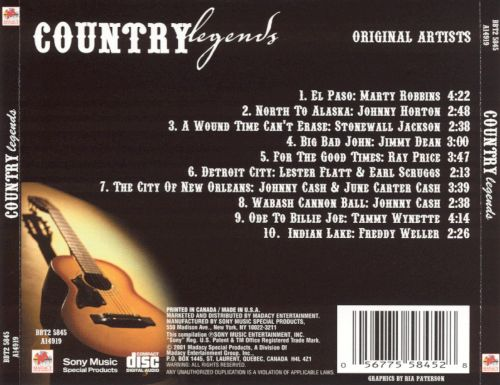Country Legends [Disc 2]