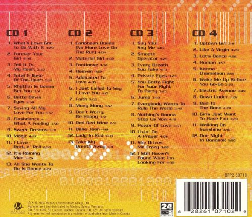 Hits of the '80s [Madacy 4-CD]