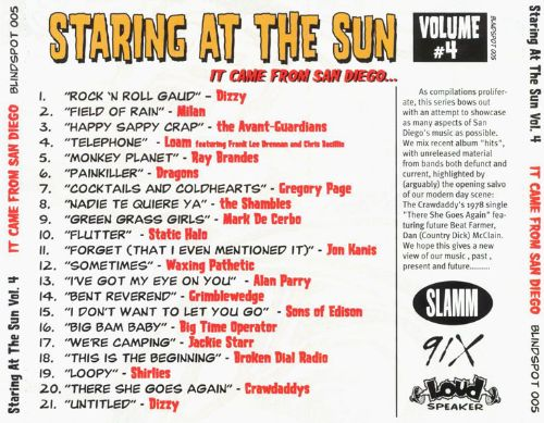 Staring at the Sun: It Came from San Diego, Vol. 4