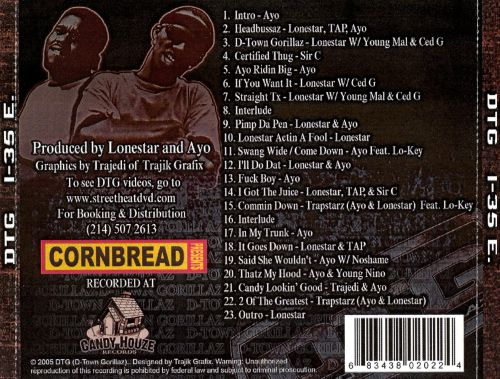 Cornbread Presents DTG East Mixtape, Vol. 1