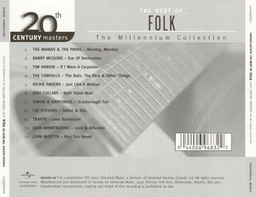 20th Century Masters - The Millennium Collection: Best of Folk