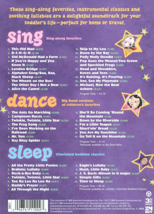 Sing, Dance and Sleep