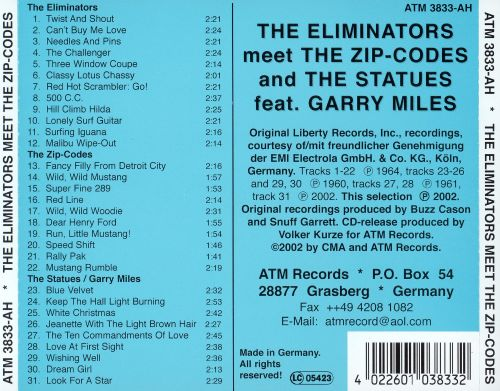 The Eliminators Meet the Zip-Codes and the Statues feat. Garry Miles