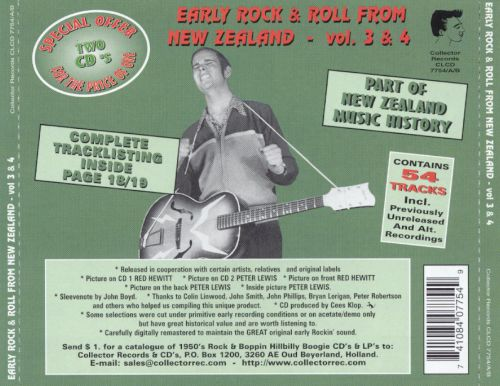 Early Rock & Roll From New Zealand, Vol. 3-4