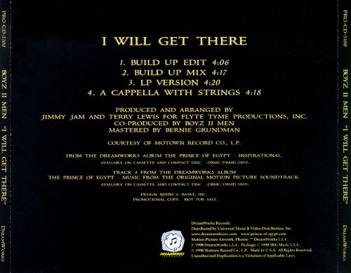 I Will Get There [CD Single]
