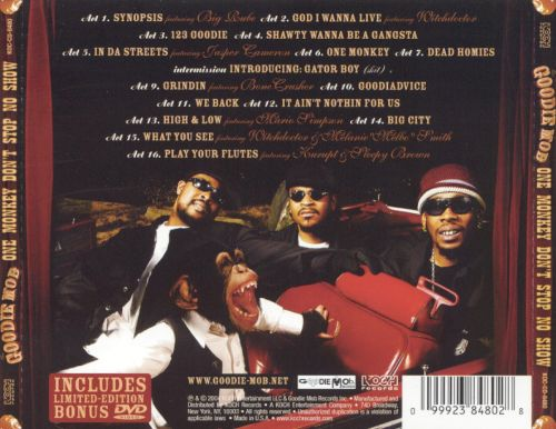 One Monkey Dont Stop No Show Goodie Mob Songs Reviews Credits