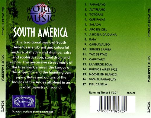 The World of Music: South America