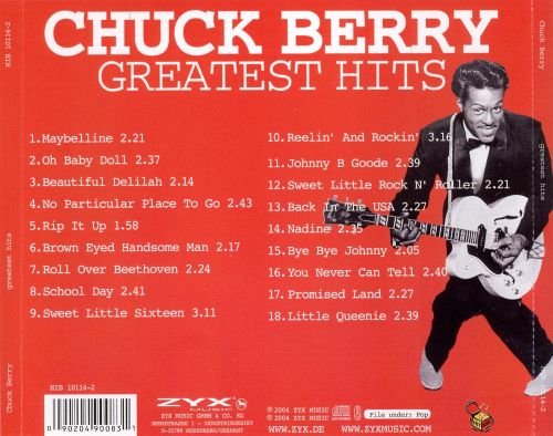 greatest hits zyx chuck berry songs reviews credits allmusic. Black Bedroom Furniture Sets. Home Design Ideas