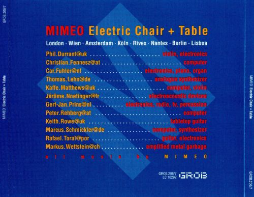 Electric Chair + Table