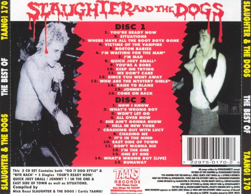 The Best of Slaughter & the Dogs [Taang!]