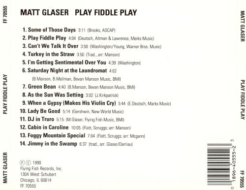 Play, Fiddle, Play: Jazz Violin Classics