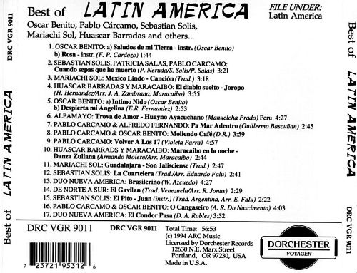 The Best of Latin America [Dorchester]