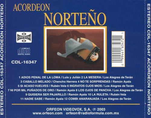 Acordeon Norteno