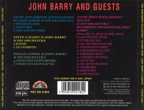 John Barry and Guests, Vol. 4