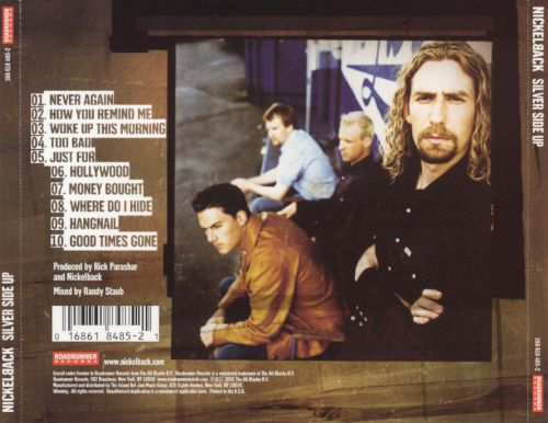 Silver Side Up Nickelback Songs Reviews Credits