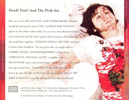 Head! Foot! And the Pink Axe