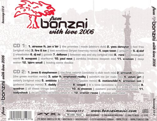 From Bonzai with Love 2006