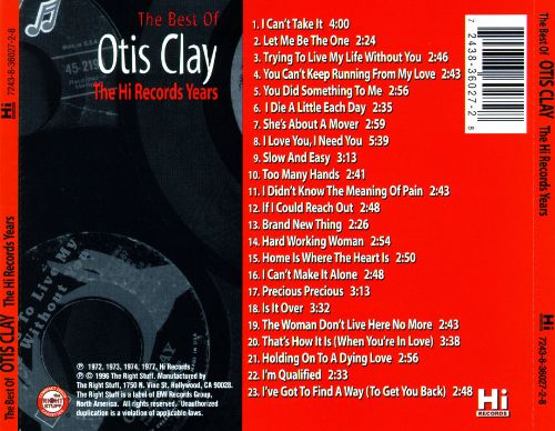 The Best of Otis Clay: The Hi Records Years