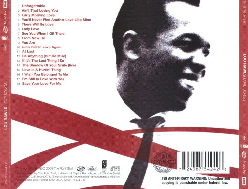 Love Songs [The Right Stuff]