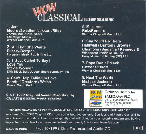 Wow Classical