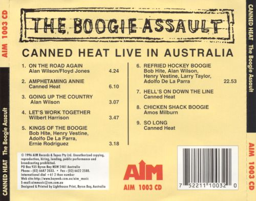 The Boogie Assault: Live in Australia