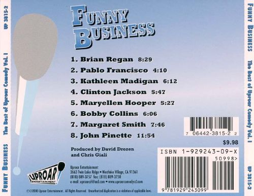 Funny Business: The Best of Uproar Comedy, Vol. 1