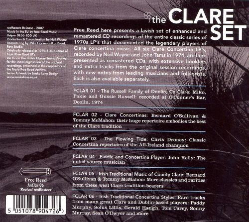 The Clare Set