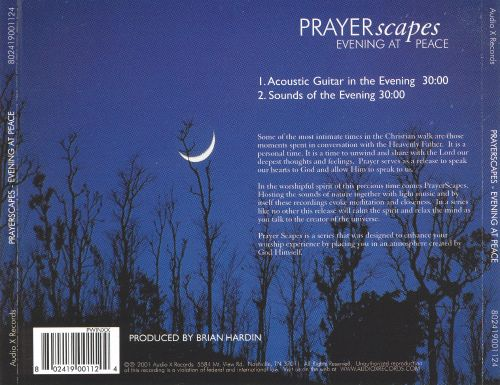 PRAYERscapes: Evening at Peace