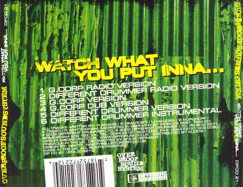 Watch What You Put Inna [EP]