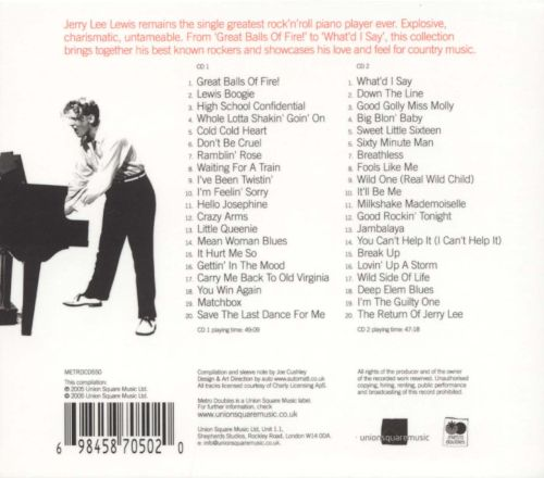 The Essential Jerry Lee Lewis: The Legendary Sun Recordings