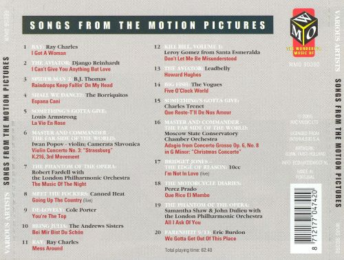 Songs from the Motion Pictures