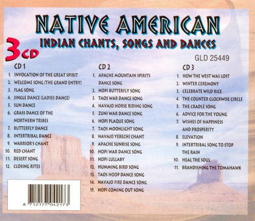 Native American: Indian Chants, Songs and Dances