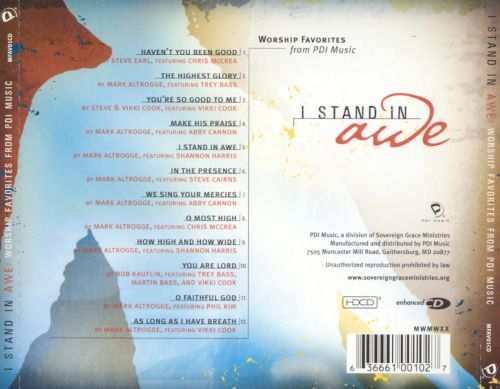I Stand in Awe: Worship Favorites from PDI Music