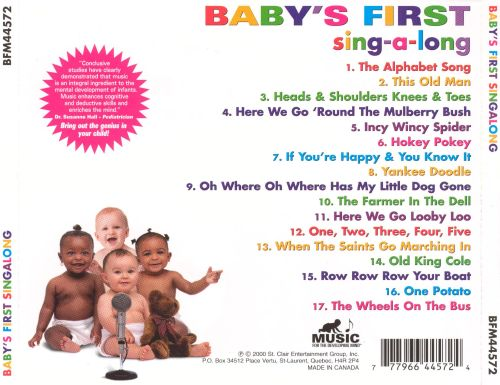 Babys First Sing A Long